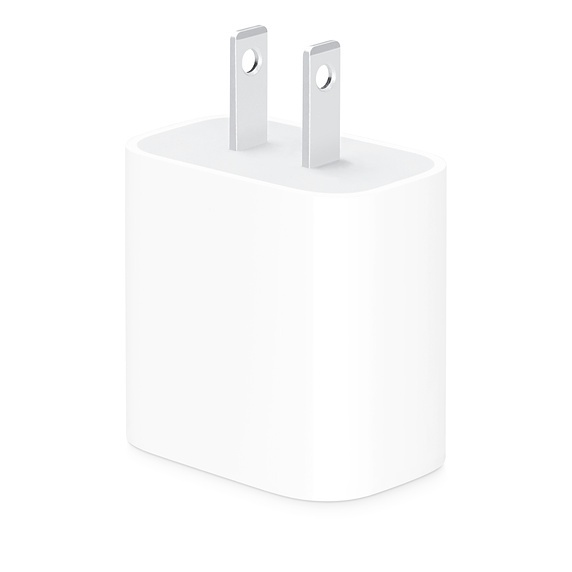 Adaptador de Corriente USB a Type-C 20W