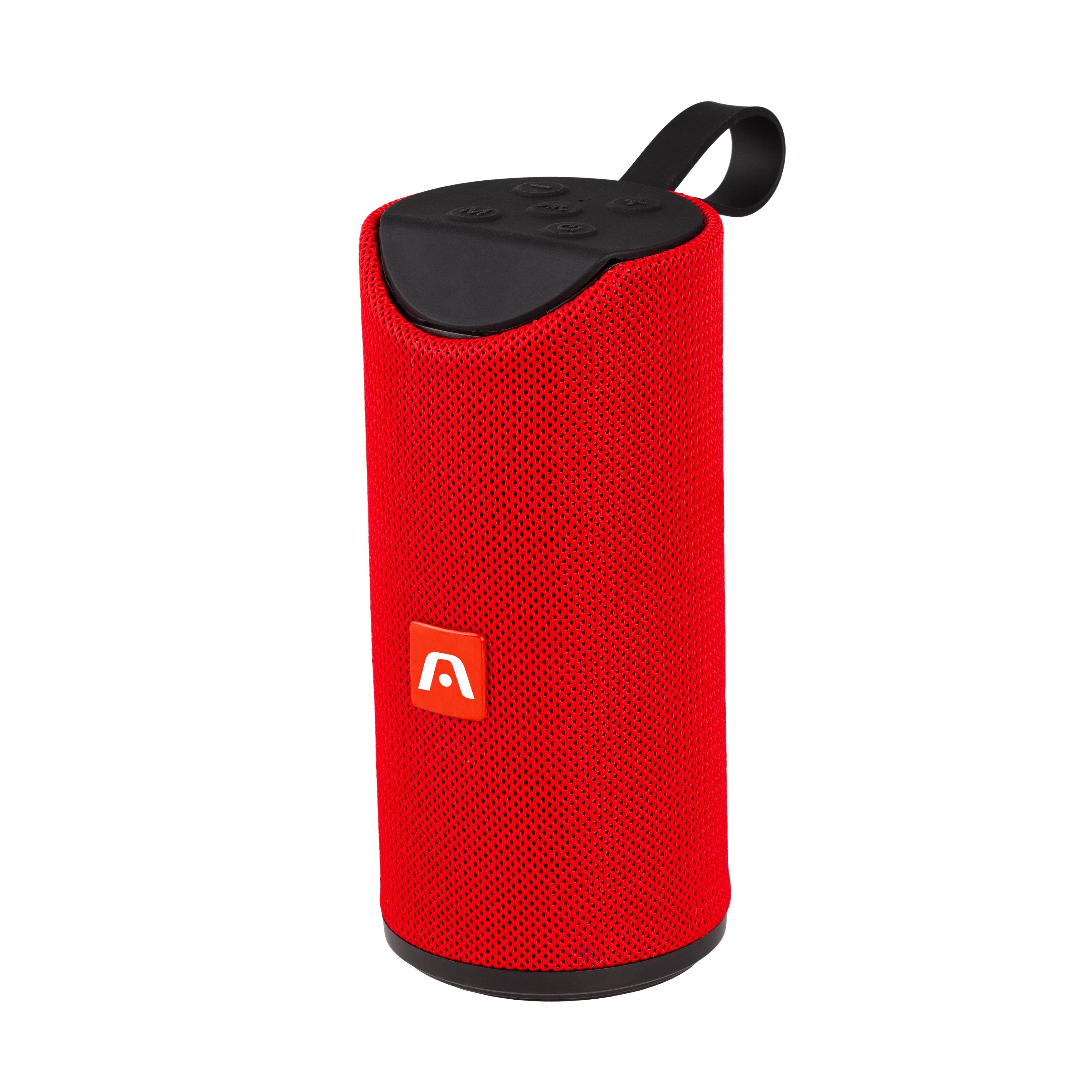 Bocina Argom BT DrumBeats Bluetooth Rojo