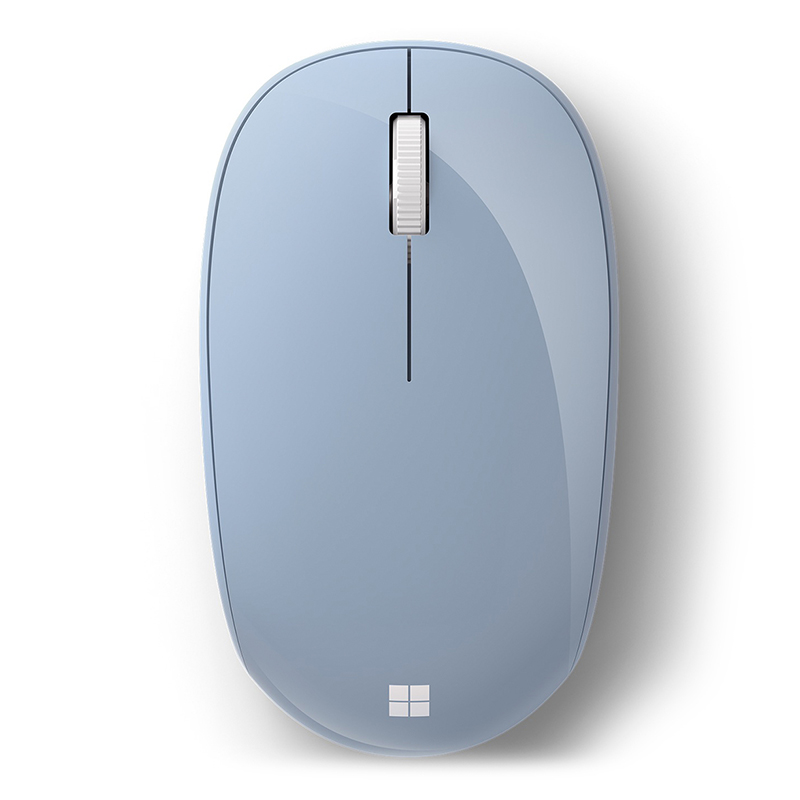 Mouse Bluetooth Microsoft Liaoning Óptico 1000DPI Azul Pastel